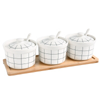 陶瓷调味罐调味盒套装佐料盒调料罐瓶盒创意盐罐家用厨房用具