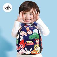 uek幼儿园书包儿童男童女孩宝宝双肩背包潮小书包1-3-5岁可爱卡通