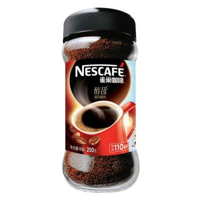 【中粮我买】雀巢醇品咖啡(瓶装200g)