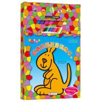 纸贵满堂儿童书无参考涂色创意色彩引导训练书全4册赠12色水彩色画笔3-5-6-7-8岁儿童画画书宝宝填色本涂色涂鸦本绘
