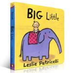 【发顺丰】Big Little 幼儿启蒙认知英文原版纸板书绘本 Leslie Patricelli 亲子读物