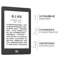 全新当当阅读器 新锐版 6英寸护眼非反光电子墨水屏电子书电纸书前光电容触摸8G存储 经典黑