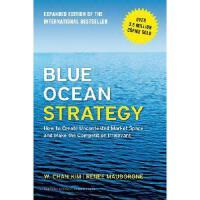 【现货】Blue Ocean Strategy, Expanded Edition 蓝海战略新版:*产业竞争、开创全新