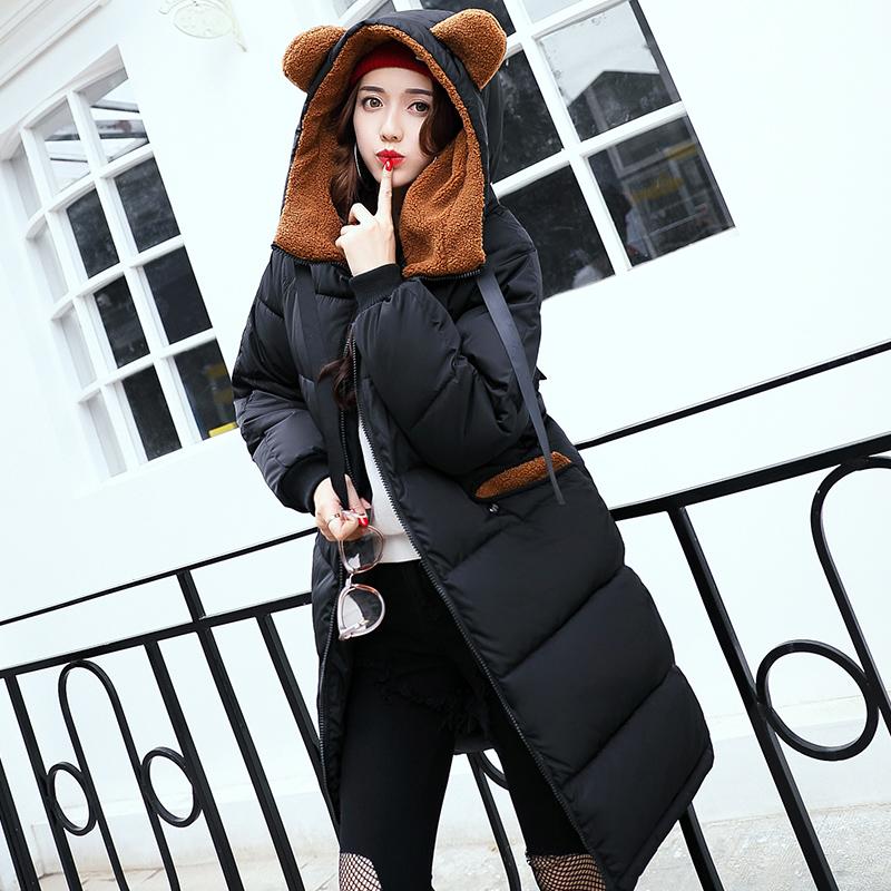 棉衣女中长款韩版冬季可爱学生棉袄外套大码加厚   送运费险 发货周期:一般在付款后2-90天左右发货,具体发货时间请以与客服协商的时间为准