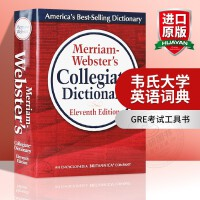 韦氏大学英语词典 英文原版 Merriam-Webster's Collegiate Dictionary 韦氏字典辞