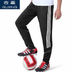 古星春夏运动长裤男士足球训练裤休闲收腿跑步健身骑行小脚裤