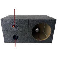 汽车音响喇叭6.5寸方形木箱空箱/低音箱/箱体/试音箱 汽车喇叭SN6223