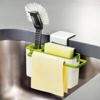 百露 厨房多功能海绵抹布沥水架置物架 百洁布洗碗海绵收纳架