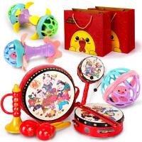 婴儿玩具3-6-12个月新生儿男女宝宝 0-1岁早教手摇铃拨浪鼓8