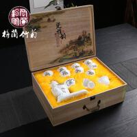 骨瓷功夫茶具整套装茶道茶杯陶瓷自动创意茶具家用