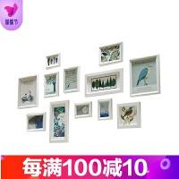 欧式实木相框墙创意照片墙 现代简约风格色相框墙组合画框 其他尺寸