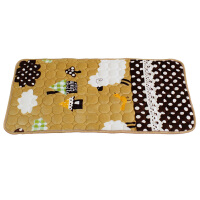 儿童幼儿园法兰绒床褥水洗卡通垫被床铺垫被褥婴儿床垫可订做定制