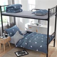 宿舍床上三件套四件时尚儿童枕套小学生女生公主风家用蓝色床铺