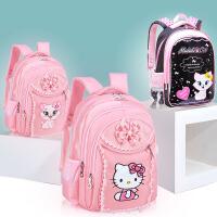 韩版女孩儿童书包小学生1-3-5年级防水6-12岁大容量双肩背包kt猫4