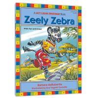 自然拼读一起学:斑马兹利(元音组合ar)Let's Read Together: Zeely Zebra
