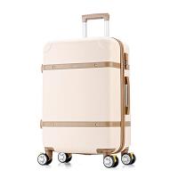 复古行李箱韩版拉杆箱20寸万向轮登机箱旅行硬箱24寸扩展密码箱子