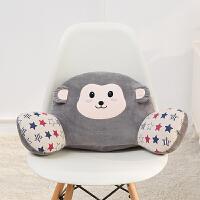 可爱卡通腰垫抱枕办公室护腰车用靠背枕椅子沙发床上睡眠靠垫四季 大号