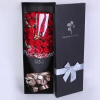 圣诞节平安夜礼物肥香皂花玫瑰花束礼盒送女友感恩节礼物