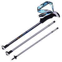 登山杖 外锁伸手杖缩三节拐杖户外徒步爬山装备