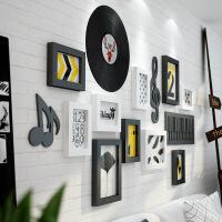 照片墙简约现代北欧实木相框墙创意组合客厅背景墙上装饰相框挂墙