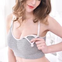 怀孕期棉孕妇内衣全罩杯聚拢胸罩无钢圈产后哺乳文胸喂奶