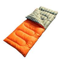 户外睡袋 秋冬天保暖办公室午休羽绒棉双人睡袋