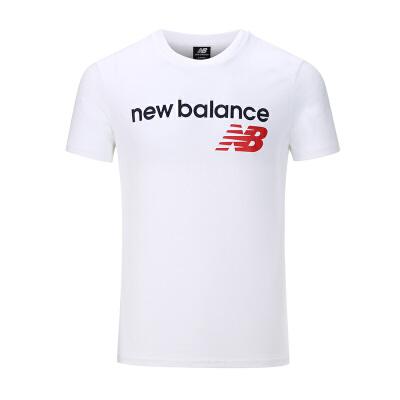 New Balance/NB 男装 运动休闲透气短袖T恤 AMT73581WT 运动休闲透气短袖T恤