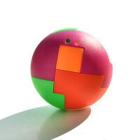 智力拼装球儿童拼插积木玩具男孩怀旧魔方球玩具批发