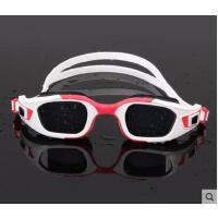 时尚游泳眼镜近视高清防雾防水大框男女游泳眼镜装备带耳塞专业游泳镜