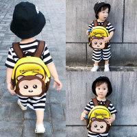 婴幼儿宝宝书包男背包1-3-6岁幼儿园可爱女小书包儿童防走失书包
