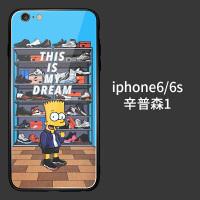 iphonex辛普森手机壳simpson苹果8不会撞壳xr手机壳iphone网红7plus/6s一家