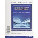 【预订】Linear Algebra and Its Applications, Books a la Carte E