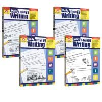 【G1-4系统写作教师版】Daily 6 Trait Writing Grade 1234 每日练习系列 小学系统写作练习册附答案 美国加州教辅教材 Evan Moor 英文原版绿山墙