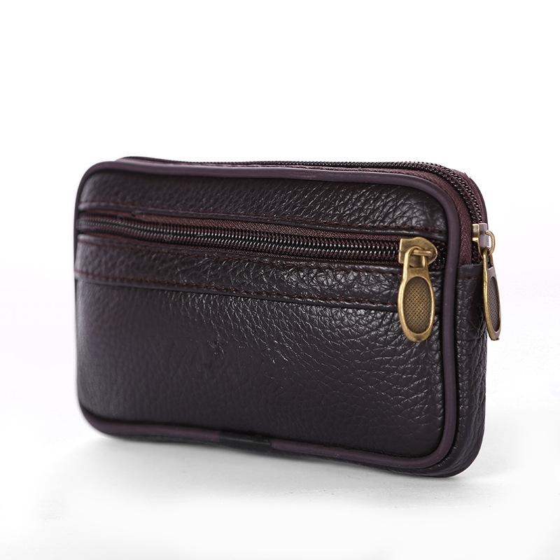 20180627013751552腰带上的手机包男士腰间钥匙钱包中老年手机袋腰包穿皮带横款皮的 发货周期:一般在付款后2-90天左右发货,具体发货时间请以与客服协商的时间为准