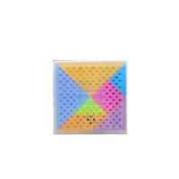 大号塑料七巧板积木智力拼图 幼儿园小学生儿童比赛拓展玩具