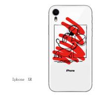 卡通xs max透明网红iphone7苹果6s手机壳6plus硅胶8x软壳5s情侣xr