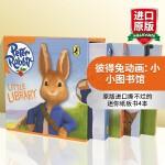 正版现货 彼得兔动画 小小图书馆 英文原版 Peter Rabbit Animation: Little Librar