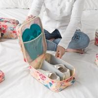 旅行鞋子收纳袋洗漱包女套装男防水出国旅游便携出差收纳袋化妆包