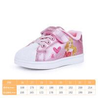 女童单鞋男童板鞋冬季小白鞋加绒软底Dabc2018新款保暖鞋