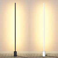 北欧客厅卧室床头极简立灯创意落地灯简约ins沙发遥控LED立式台灯