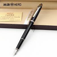 HERO英雄钢笔1095丽雅黑铱金笔 钢笔 墨水笔 商务礼品笔