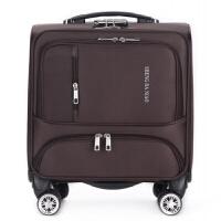 新款商务拉杆箱防水牛津布万向轮登机箱小行李箱子男女旅行箱18寸