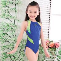 英发儿童 三角连体游泳衣 女孩 女童 少女小孩 学生比赛训练