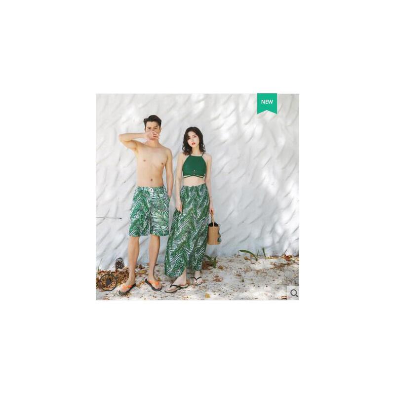 情侣泳衣女分体瘦长裙沙滩度假游泳装三件套小香风修身遮肚显 品质保证 售后无忧 支持货到付款
