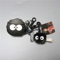 千与千寻煤球精灵保护套无线蓝牙耳机盒2硅胶