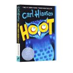 【顺丰速运】英文原版 Hoot 猫头鹰的叫声 拯救猫头鹰 2003年 纽伯瑞银奖 Carl Hiaasen