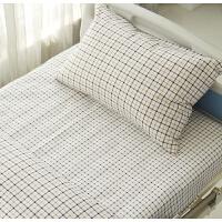 悦兰心医护用医院床单被罩三件套床上用品三件被套 纯棉全棉 均码