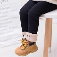 女宝宝棉裤冬季新款1-3岁儿童加绒加厚打底裤女童外穿保暖裤绒裤0