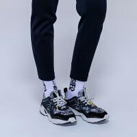【秒杀价:398元】Discovery2019秋冬女式老爹跑鞋运动鞋DFFH92014
