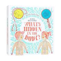 英文原版绘本 What's Hidden In The Body 人体里藏着什么秘密?精装 儿童STEM科普百科英语图画